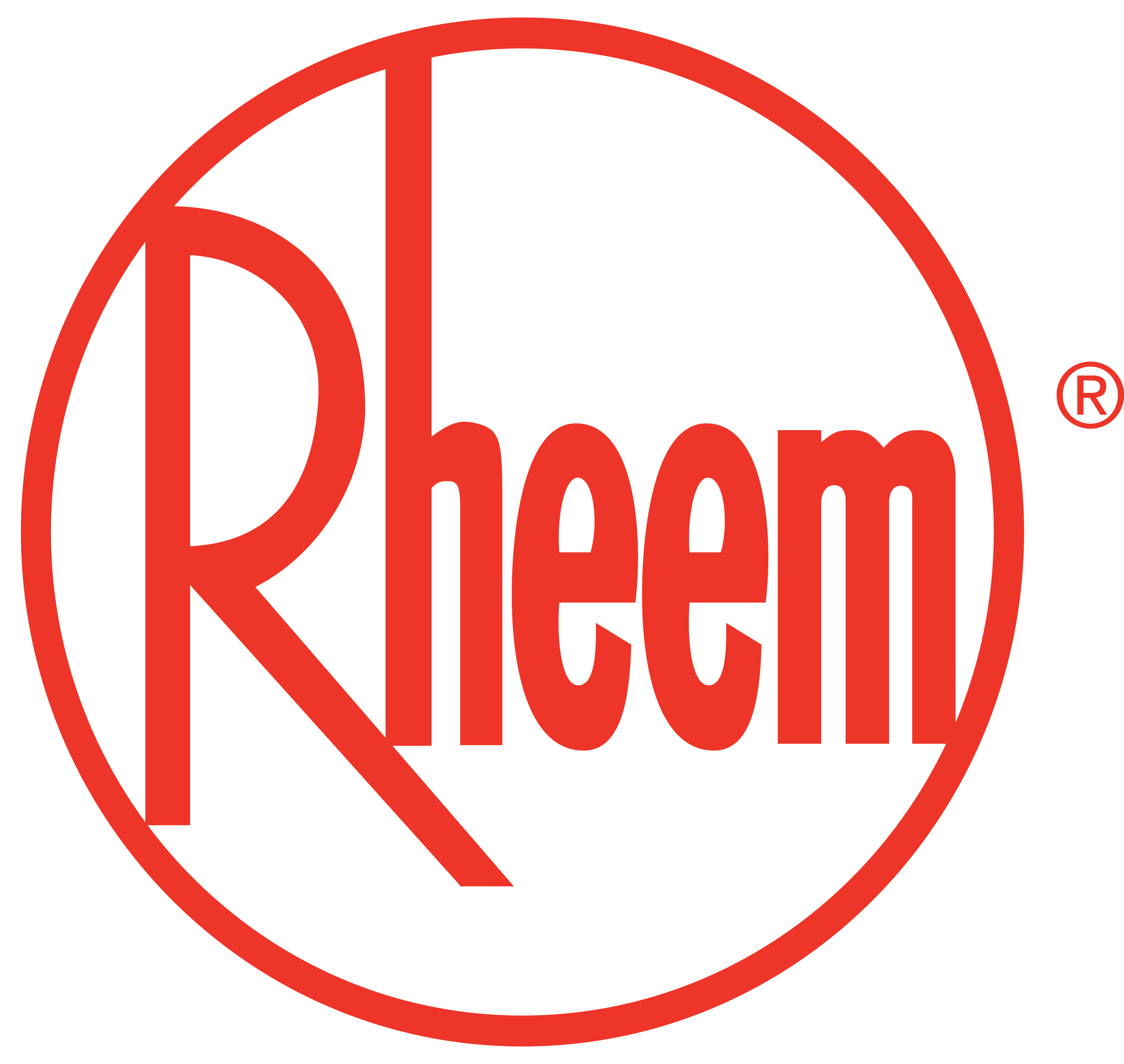Rheem Logo Crown Plumbing Specialists